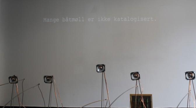 Shadow moths/Skyggemøll. Interaktiv tekst. Kollisjonsindeks, Lydgalleriet, Bergen 5.-11.4.2013